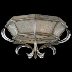 Beveled Arcs No. 704240 Flushmount by Fine Art Lamps