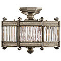 Belgrave Square No. 455840 Semi Flushmount by Fine Art Lamps