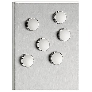 MURO Set of 6 Magnets by Blomus