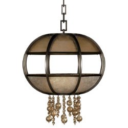 Singapore Moderne Suspension by Fine Art Lamps