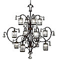 Eaton Place No. 583640 Chandelier by Fine Art Lamps