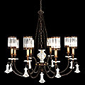 Eaton Place No. 585240 Chandelier by Fine Arts Lamps