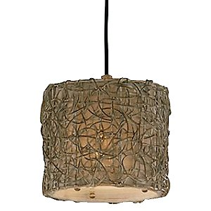 Knotted Rattan Pendant by Uttermost
