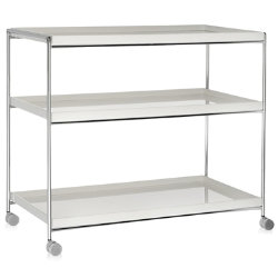 Trays Trolley by Kartell