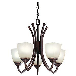 Piedmount 5 Light Chandelier by Lithonia Lighting