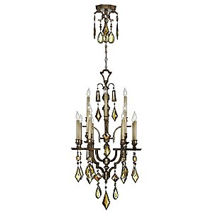 Encased Gems 16 Light Chandelier by Fine Art Lamps