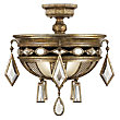 Encased Gems Semi-Flushmount by Fine Art Lamps