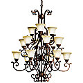 Larissa 3-Tier Chandelier by Kichler