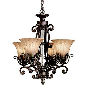 Cottage Grove Single Tier Chandelier by Kichler