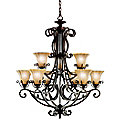 Cottage Grove Two-Tier Chandelier by Kichler