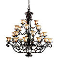 Cottage Grove Grande Four-Tier Chandelier by Kichler