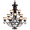 Cottage Grove Three-Tier Chandelier by Kichler