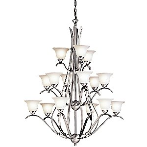 Dover Three-Tier Chandelier by Kichler