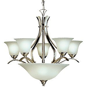 Dover Chandelier with Bowl by Kichler