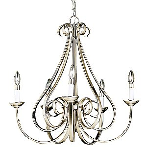 Dover Scroll Chandelier by Kichler
