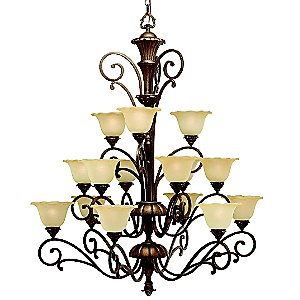 Cheswick Grande 3 Tier Chandelier by Kichler