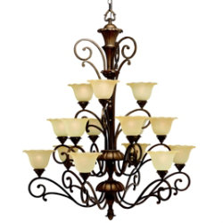 Cheswick Grande 3-Tier Chandelier by Kichler