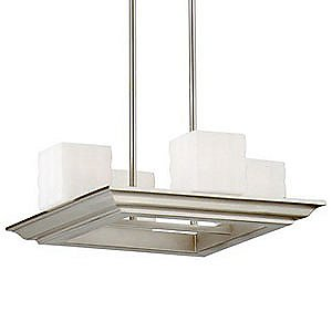 Mason 4-Light Square Suspension by Forecast Lighting