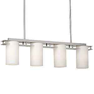 Ingo 4-Light Linear Suspension by Forecast Lighting