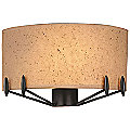 Urban Oasis Wide Wall Sconce by Forecast Lighting
