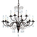 Barcelona Two-Tier Chandelier by Kichler