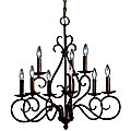 Norwich 2-Tier Chandelier by Kichler