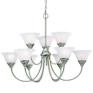 Telford 9-Light Chandelier by Kichler