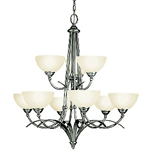 Lombard 2-Tier Chandelier by Kichler