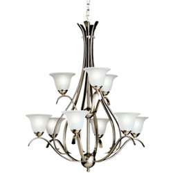 Dover Two-Tier Chandelier by Kichler