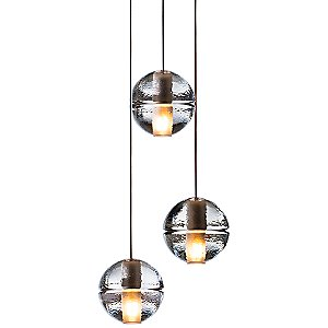 Bocci 14 Series Three Pendant Chandelier