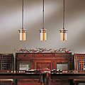 Exos Pasadena Adjustable Pendant by Hubbardton Forge