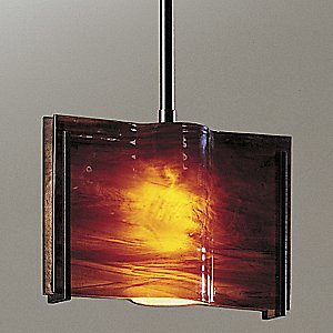 Exos Wave Adjustable Pendant by Hubbardton Forge