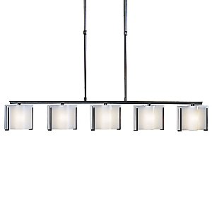 Exos Wave Adjustable Linear Suspension by Hubbardton Forge