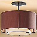 Exos Double Shade Semi-Flushmount Small by Hubbardton Forge