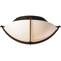 Compass Semi-Flushmount by Hubbardton Forge