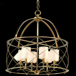 Argyle Chandelier by Corbett Lighting