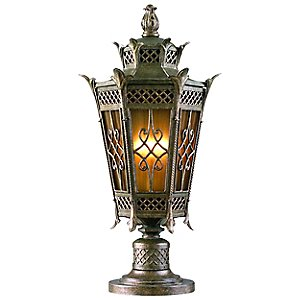 Avignon Pier Mount Lantern by Corbett Lighting