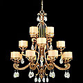Roma 16 Light Chandelier by Corbett Lighting