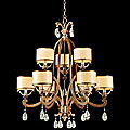 Roma 9 Light Chandelier by Corbett Lighting
