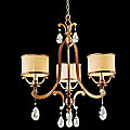 Roma 3 Light Chandelier by Corbett Lighting