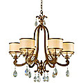 Roma 6 Light Chandelier by Corbett Lighting