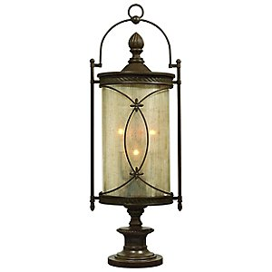 St. Moritz Outdoor Pier Mount Lantern by Corbett Lighting