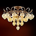 Venetian Semi Flushmount by Corbett Lighting