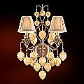 Venetian 2 Light Sconce by Corbett Lighting