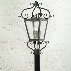 Vineyard Hill Post-Mount by Corbett Lighting