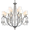 Fountainbleau Chandelier by Troy Lighting