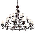 Provence Three-Tier Chandelier by Troy Lighting