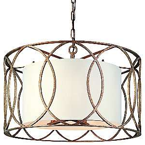 Sausalito Drum Suspension by Troy Lighting