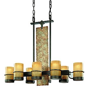 Bamboo Suspension by Troy Lighting