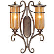 Lido 2 Light Wall Sconce by Troy Lighting